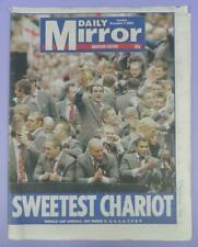Daily Mirror 9th December 2003 - England Rugby World Cup  - Souvenir Edition