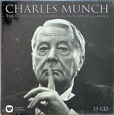 CHARLES MUNCH Complete Warner Classics Recordings 13-CD SEAL* Liszt Mozart Ravel