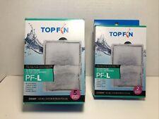 New listing 7qty Top Fin Silenstream Large Pf-L Filter Cartridges Refill -Pf30, Pf40, Pf75
