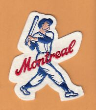 OLD MONTREAL EXPOS PLAYER JERSEY PATCH Unsold Stock
