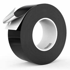 LLPT Aluminum Black Foil Tape 2 Inches x 55 Yards 3.94 Mil High Temp Heavy Duty