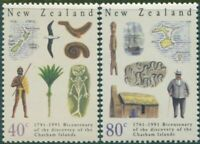 New Zealand 1991 SG1585-1586 Chatham Islands set MNH