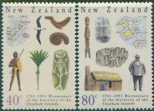 New Zealand 1991 SG1585-1586 Chatham Islands set MNH