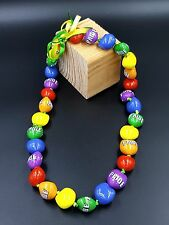 LGBTQ Kukui Nut Lei 18'' 30-Nut Necklace