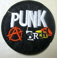 Aufnäher Punk Rock Patch Anarchy