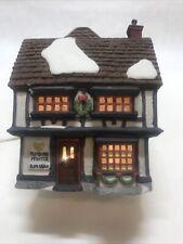 Department 56 Dickens Village Series. Tutbury Printer 1990