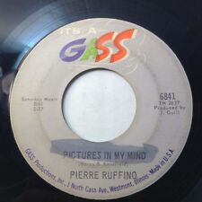 "PIERRE RUFFINO 45 Pictures in My Mind VG++7"" RARE 1960 GASS PSYCHE Northern Soul"