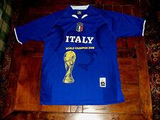 Italy Italia FIFA World Cup World Champion 2006 Drako Futbol Jersey Soccer Shirt