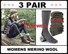 Womens Super Warm Heavy Thick Smart Thermal MERINO WOOL Boots Socks 9 ~ 11