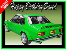 TORANA SLR 5000 Car Edible Icing Image Cake Decoration A4 Party Topper