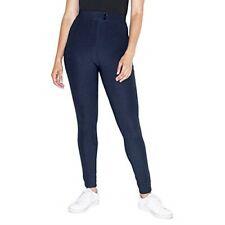 American Apparel mujer el pantalón de montar a caballo Azul Marino XL Nuevo OR300W