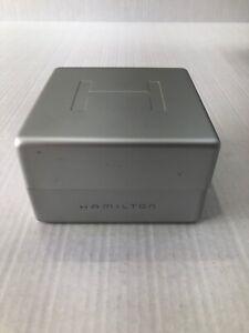 Hamilton Original gray orange watch box Storage Case display