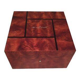Blancpain New Style Latest Dark Wood Watch Box