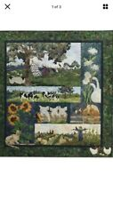 McKenna Ryan Story Book Farm Quilt Kit with Batik Fabric ~ Complete ~ New