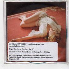 (FW484) Martha Wainwright, Bleeding All Over You - DJ CD