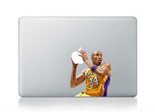 "Kobe Bryant Lakers NBA Sticker Vinyl Skin Decal Cover Macbook Air/Pro/Retina 13"""