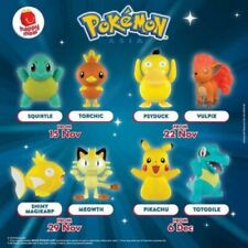 McDonald's Happy Meal Toy Cake Topper Pokemon Asia Rare- NEW - Choose 1