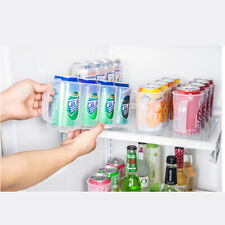New Beer Soda Can Storage Holder Kitchen Fridge Space Saver Organizer Rack Z5H