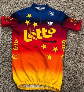 VINTAGE Giordana CYCLING SHIRT JERSEY LOTTO CAMPAGNOLO VERMARC EDDY MERCKX XL