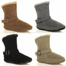 Unbranded Slip On Low Heel (0.5-1.5 in.) Boots for Women