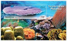Malaysia 2013 Living Corals ~ MS mint