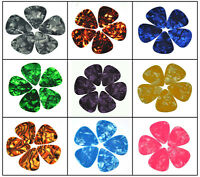 100pcs New Thin 0.46mm Blank Guitar Picks Celluloid Plectrum For Acoustic Guitar