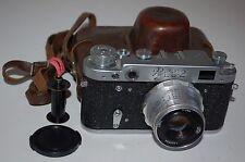 FED 2 (type D4) vintage soviet Rangefinder Camera. avec étui. 1965. (5636899)