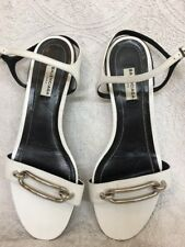 c5a118b46ef Balenciaga Buckle Leather Sandals   Flip Flops for Women for sale
