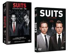 Dvd SUITS - *** Stagioni 01-04 (Box 14 Dischi) Serie Tv *** ....NUOVO