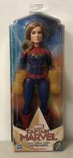 "Cosmic Captain Marvel Super Hero Doll 12"" Hasbro"