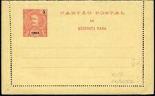 426092) Portugal Timor ungebr. Kartenbrief  mit Antwort-Kartenbrief innen