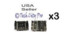 lot 3 Samsung Galaxy S3 Charging Port Micro USB i535 i747 L710 R530 T999 i9300