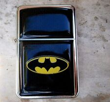 BATMAN SUPER HERO STAR BRAND LIGHTER EMBLEM  & EXTRA ZIPPO FLINTS robin movie