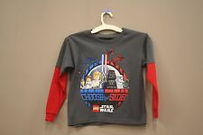 CHOOSE YOUR SIDE WITH LONG SLEEVES.. T-SHIRT..LEGO..FOR KIDS..SIZE:LARGE..A.D