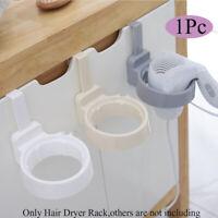 Storage Organizer Hairdryer Rack Bathroom Shelf Bracket Hair Dryer Holder