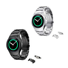 Stainless Steel Band Strap for Samsung Gear S2 Smart Watch w/Connectors/adapters