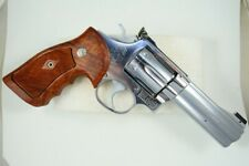 S&W GRIPS K and L FRAME,HARDWOOD,FIT FOR SQUARE BUTT and ROUND BUTT,SMITH&WESSON