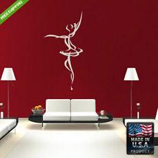 Wall Decals Art Design Mural Sticker Beautyfull Dancing Girl Bedroom (Z184)