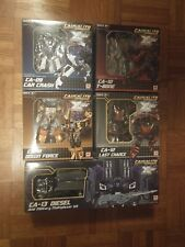 MISB FansProject Transformers Causality Crossfire - Menasor Full Set of 5