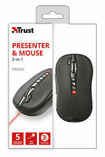 TRUST 21191 PREMO 2 IN 1 WIRELESS MOUSE & LASER PRESENTER WITH 5 FUNCTIONS