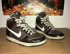 newest collection 3a54e b5f3e Nike SB Dunk High Premium Woodgrain Baroque Brown Black 312786-223 Men s  Size 11