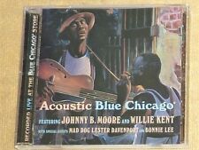 """CD by JOHNNY B. MOORE and WILLIE KENT """"ACOUSTIC BLUE CHICAGO"""" / BC5004"""