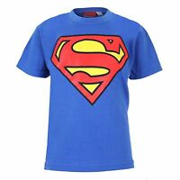 DC Comics Superman Logo - Boys Kids T-Shirt  3-12 YEARS