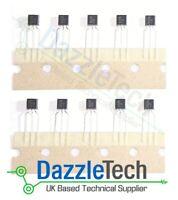 10 X BC557 B PNP Transistor General Purpose -45V TO-92 BC-557
