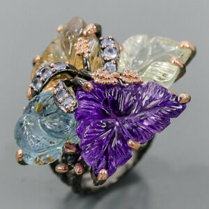 Special Jewelry AAAA+ Amethyst Ring Silver 925 Sterling  Size 8 /R175914