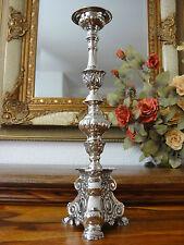 Kerzenleuchter Barock Kerzenhalter Kerzenständer Silber Antik Kirchenleuchter S