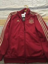 Adidas Mens FIFA World Cup Spain Track Jacket Red size M
