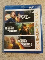 The Delta Force, Missing In Action, Missing in Action 2 Blu Ray (Chuck Norris)