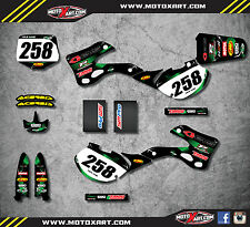 Full Custom Graphic Kit BARBED KAWASAKI KX 125 - 1999 / 2002 stickers decals