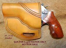 Gary Cs Avenger Left Hand Owb Holster Revolver Sampw J Frame 3 Barrel Leather